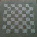 "18"" Milled Chess Board (basic)"