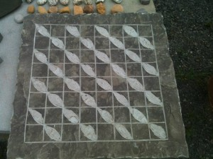 "18"" Chess Board (half wave)"
