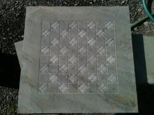 """24"""" Milled Board (cross diamonds)"""