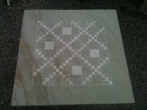 "24"" Milled Chess Board"
