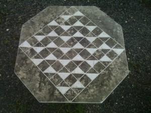 "24"" Octagon Chess Board"
