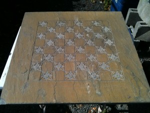 "30"" Chess Board"