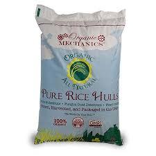 Organic Mechanics Rice Hulls