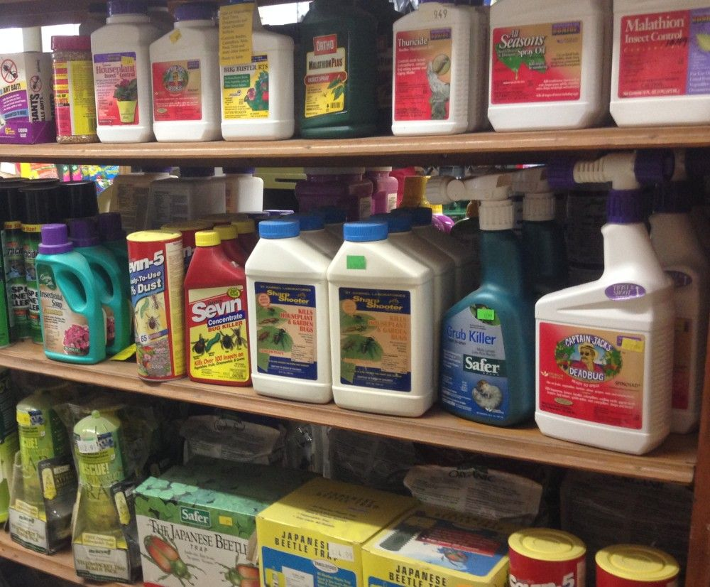 Pest Control & Repellent Display