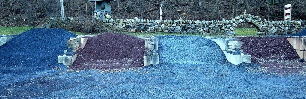 Bin Materials Gravel Mulch Bluestone Gardens