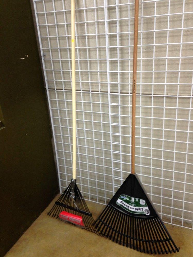 Leaf Rake Display