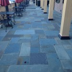 Full Color Bluestone Patio Detail