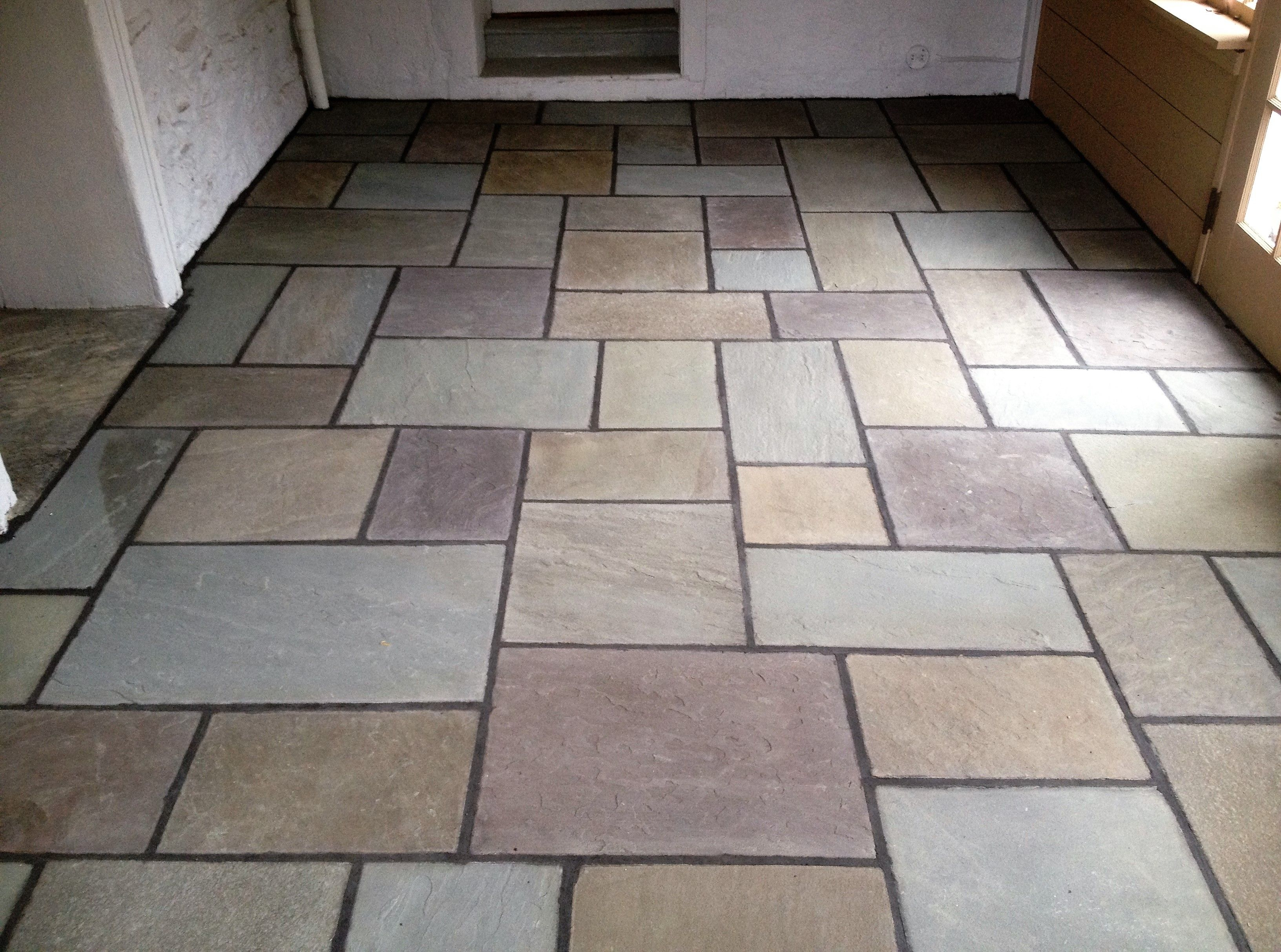 Natural pattern floor for Bluestone flooring