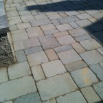 Tumbled Bluestone Patio Detail