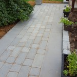 Tumbled Bluestone Walkway Detail