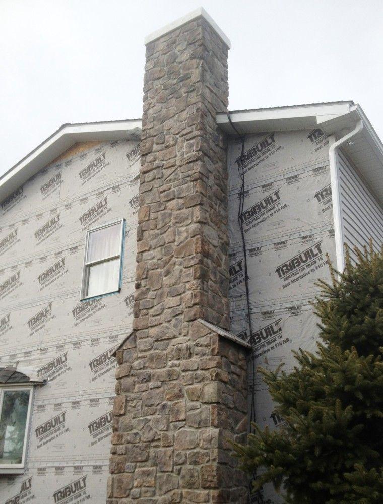 Chimney Veneer Detail