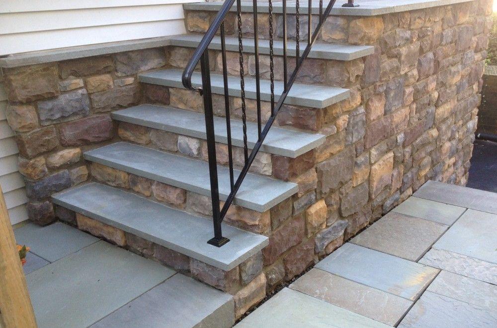 Step Riser Veneer Detail