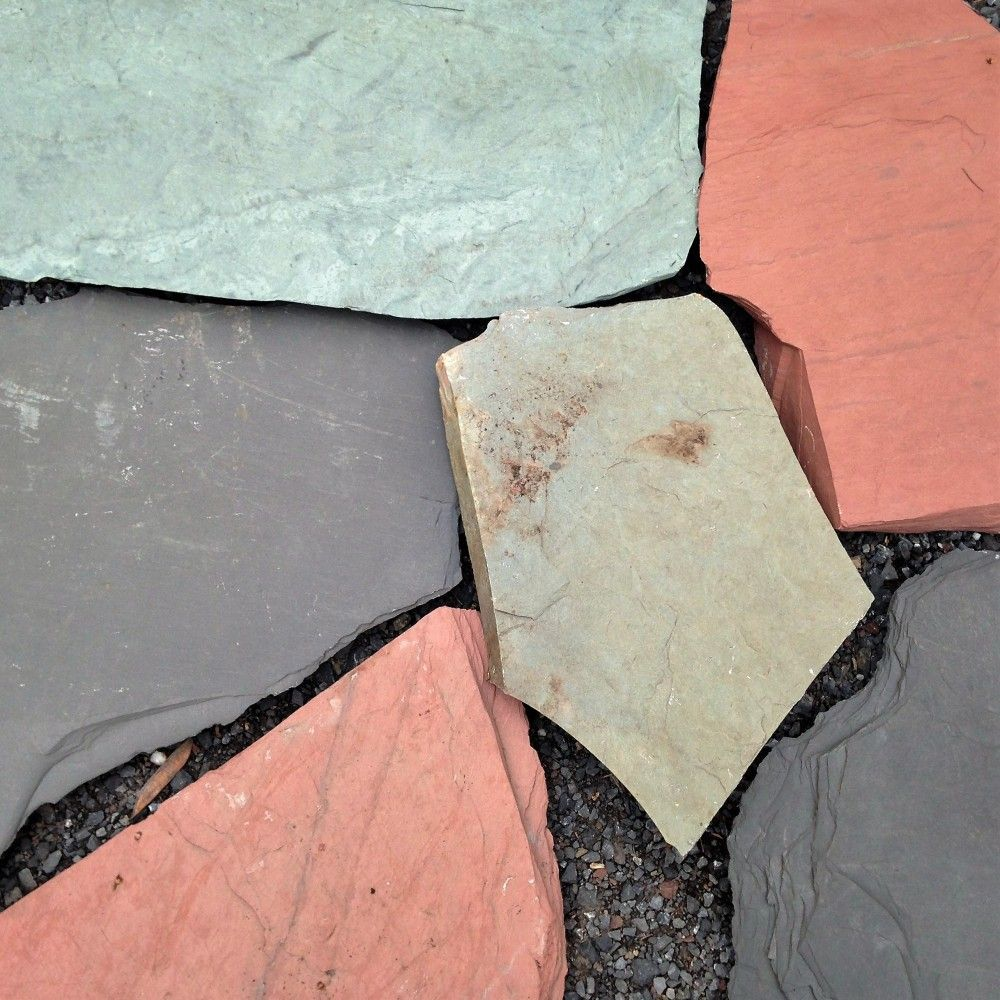 Flagstone for Vermont slate colors