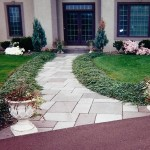 Curved Bluestone Walkway Detail