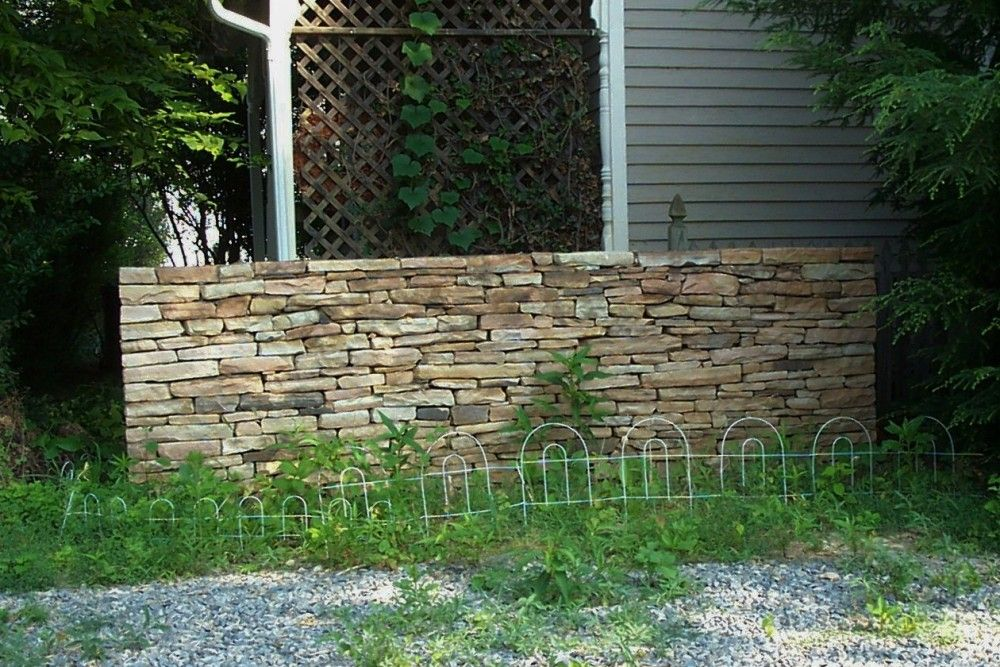 Stone Wall Detail