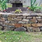 Granite Planting Bed Detail