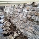 Creek Wall Detail