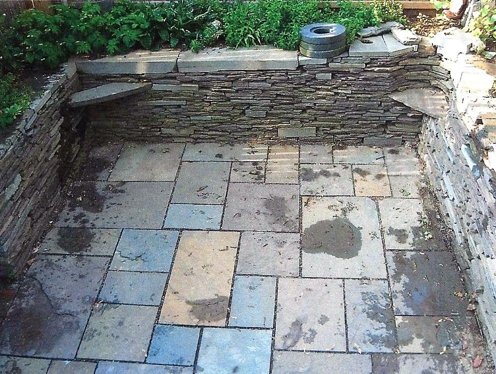Small Backyard Wall/Patio Detail