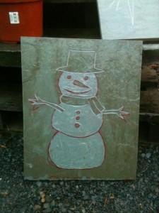 engrave.snowman